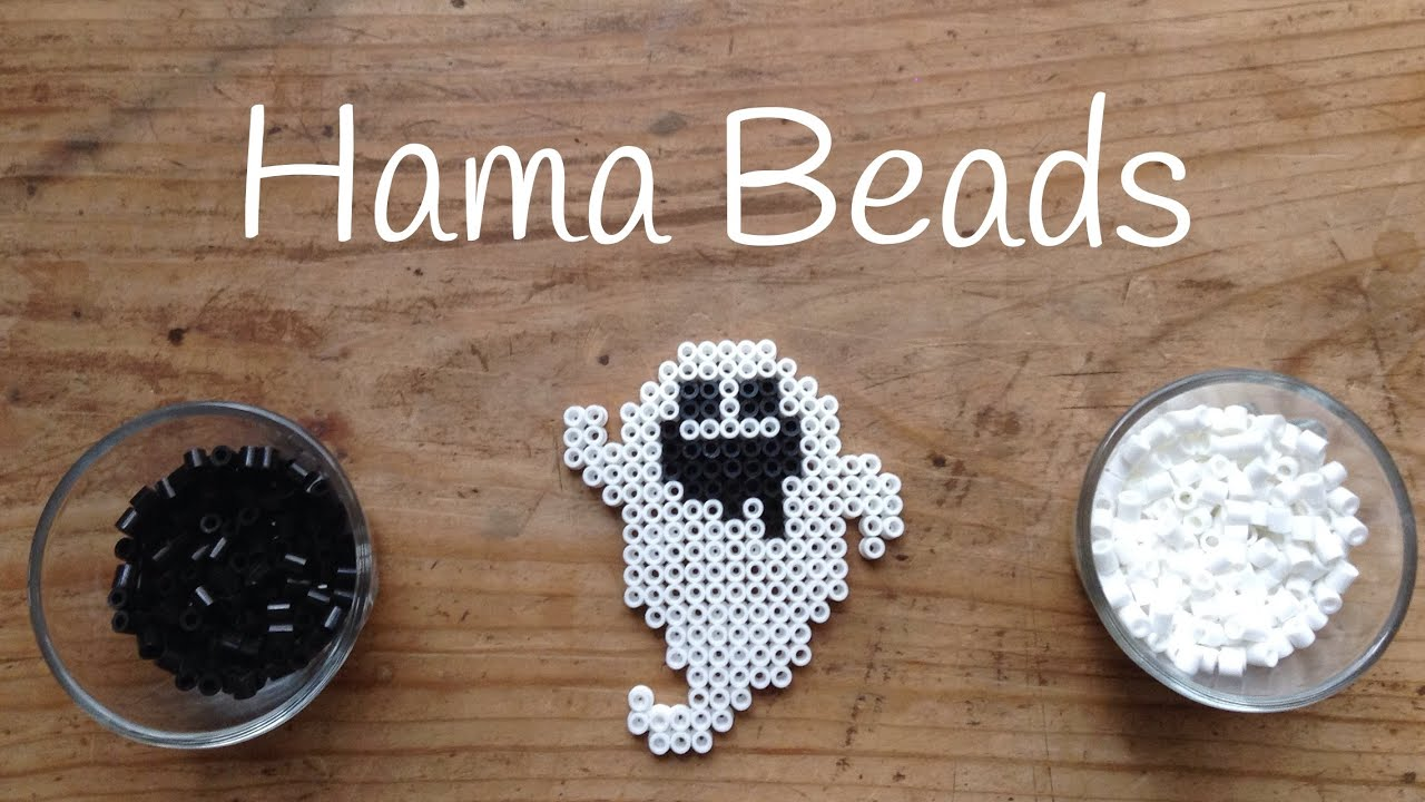 Plantillas de Hama Beads: Fantasma - Hama Beads Ghost