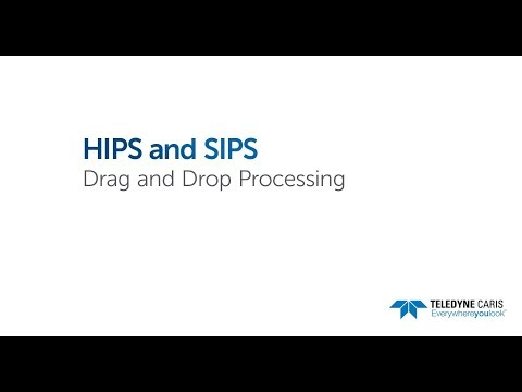 Drag and Drop Processing