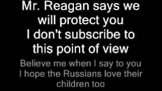 Sting Russians Lyrics