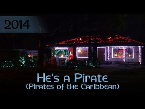 ryanschristmaslights - He's a Pirate