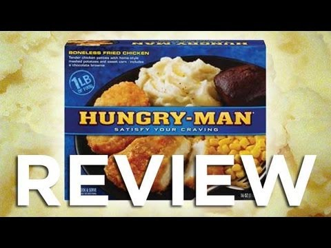 Hungry Man Boneless Fried Chicken Video Review: Freezerburns (Ep518)