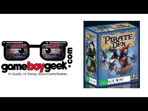 The Game Boy Geek Reviews Pirate Den