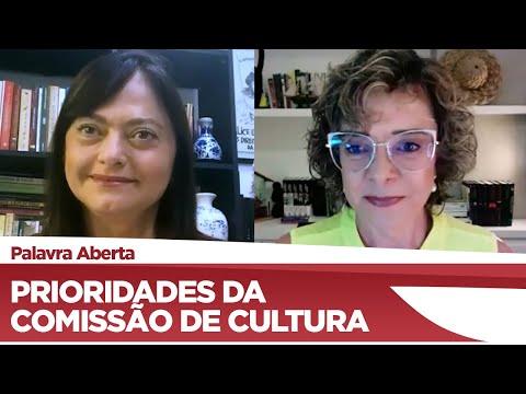 Alice Portugal fala sobre as prioridades da Comissão de Cultura para 2021 - 25/03/21
