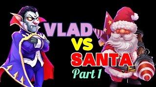 Castle Clash: Vlad Dracula vs. Santa Boom - Part 1