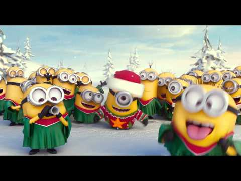 theme happy new year e card minions merry xmas happy new