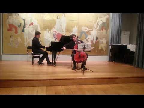 Concert « Musique de chambre et improvisation »<br /> Prokofiev, Sonate pour violoncelle et piano, 1er et 2 mvts, extraits