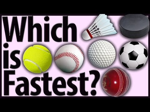 Fastest Balls In Sports (Top 11 - Also Shuttlecocks And Pucks)