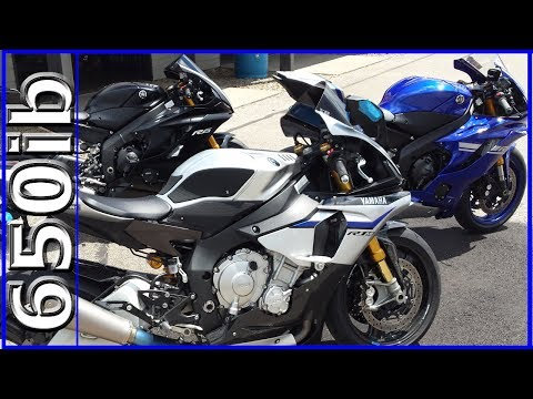 What's the Best Track Bike Yamaha R6 or R1M?