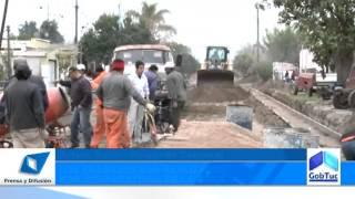 preview picture of video 'Alperovich supervisó trabajos en La Florida'
