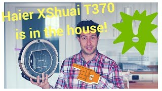 Haier XShuai T370 - the new generation of super vacuum robots!
