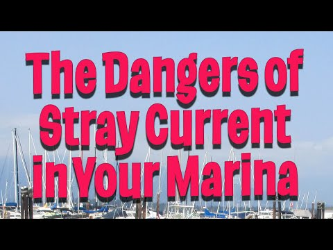 The Dangers of Stray Current in Your Marina