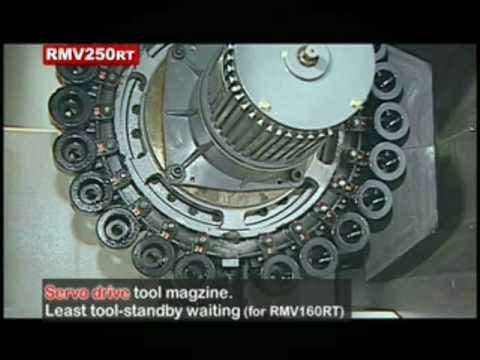 RMV High Speed Spindle and Fast Tool Change