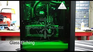Glass Etching - Nvidia Meshify C Project