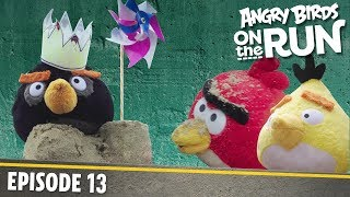 Angry Birds On The Run | Fun Day At The Beach   S1 Ep13
