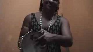 How to play percussion: UNIQUE~ Rare Cuica Maestro in Bahia Brasil