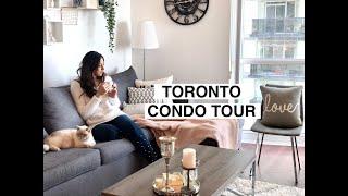 Toronto Condo Tour | 1Bed + Den 700 Sq/ft (Parklawn, Lakeshore)