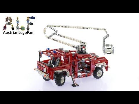 Vidéo LEGO Technic 8289 : Le camion des pompiers