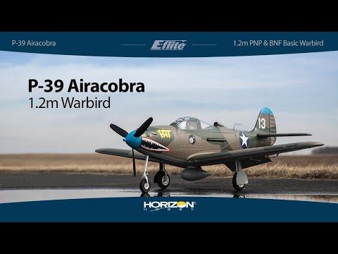 eflite®-p39-airacobra-12m-pnp-amp-bnf-basic-warbird
