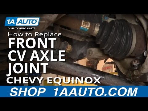 How To Install Replace Front CV Axle Joint Chevy Equinox Saturn Vue 05-10 1AAuto.com Mp3