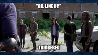 """Best Memes From The Walking Dead Season 7 Episode 9 """"Rock In The Road"""""""