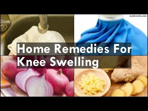 Video Home Remedies For Knee Swelling