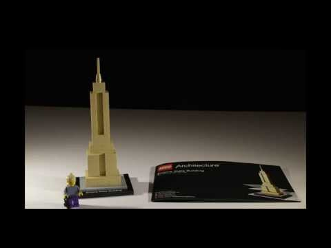 Vidéo LEGO Architecture 21002 : Empire State Building