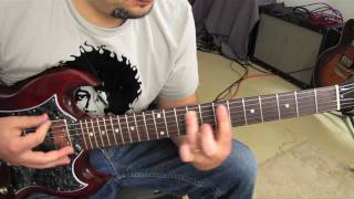 Black Sabbath - The Wizard - Guitar Lesson - Tutorial - How to Play - Ozzy - Tony Iomi