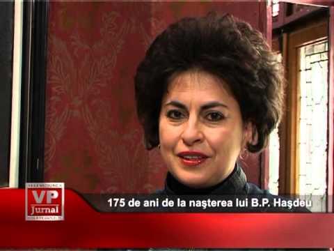 175 de ani de la naşterea lui B.P. Haşdeu