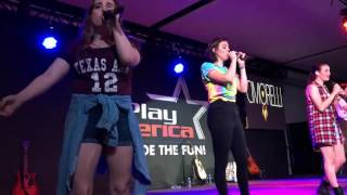 "Cimorelli - ""You're Worth It"" live in New Jersey (05/22/2016)"