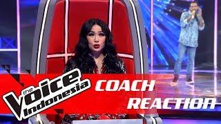 Mirip Iwan Fals, Ini Reaksi Coach Titi DJ | COACH REACTION | The Voice Indonesia GTV 2018
