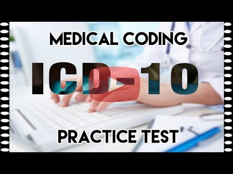 ICD-10 Practice Question — Medical Coding Practice Test - YouTube