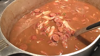 Chicken & Sausage Gumbo By The Cajun Ninja