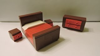 How To Make A Lego Master Bedroom Set