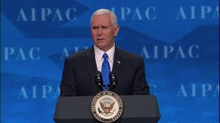 Vice President Mike Pence at AIPAC Policy Conference 2017