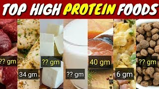 Top 10 High Protein Food | High Protein Food | 2018