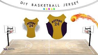 MVP NBA Lakers Replica Dog Jersey