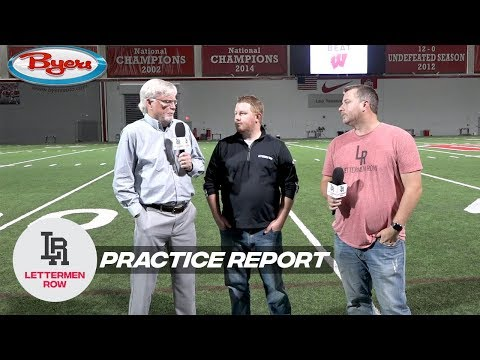 Practice Report: Ohio State wants physical test, angry Wisconsin can offer it