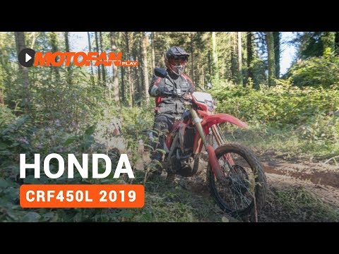 Vídeos de la Honda CRF450L