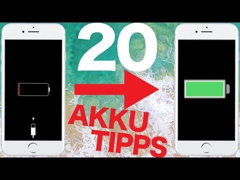iOS 11 - Mit diesen 20 Tricks hält euer iPhone Akku deutlich länger