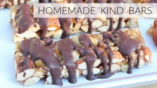 DIY KIND BARS RECIPE | Easy Healthy Granola Bars