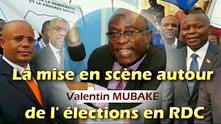 V.MUBAKE  frappe encore: La mise en scène de la CENI autour de l' élections en RDC
