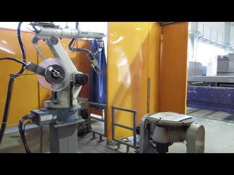 Cela z robotem OTC DR-4200 - zdjęcie