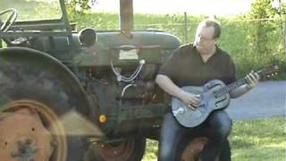 Delta Tractor Blues Jam - 1933 National Duolian & Victor the tractor..