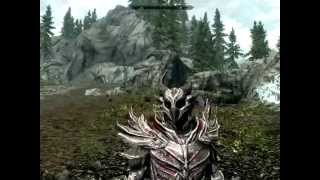 Skyrim напарник против древнего дракона/partner vs ancient dragon