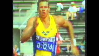 1994 European Helsinki- Henrik Dagard, Long Jump 7m45