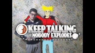 Два горе-сапёрa | Keep Talking And Nobody Explodes (ft. Эгвун)