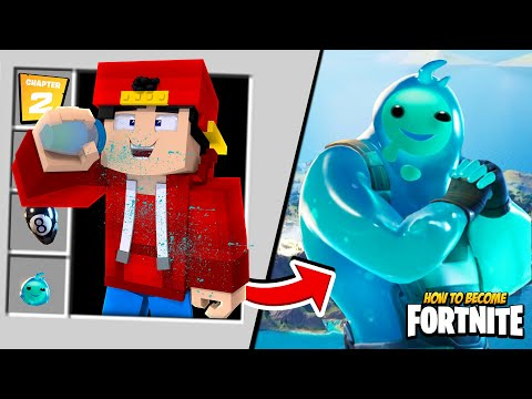 Minecraft - HOW TO BECOME RIPPLEY FROM FORTNITE CHAPTER 2!!