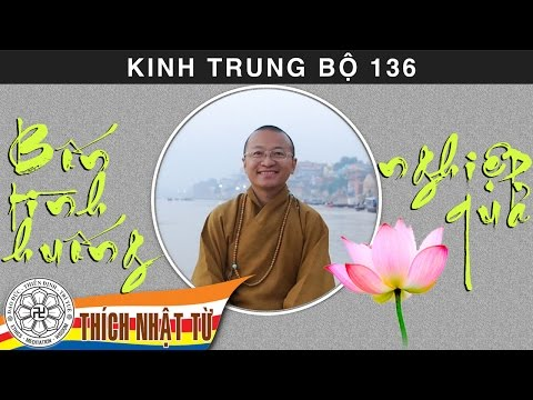Kinh Trung Bộ 136 (Kinh Đại Nghiệp Phân Biệt) - Bốn tình huống nghiệp quả (19/07/2009)
