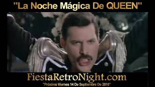 FREDDIE MERCURY - Living On My Own - La Noche Mágica De QUEEN