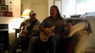 Steven Ingram sings Guitars Cadillacs .AVI